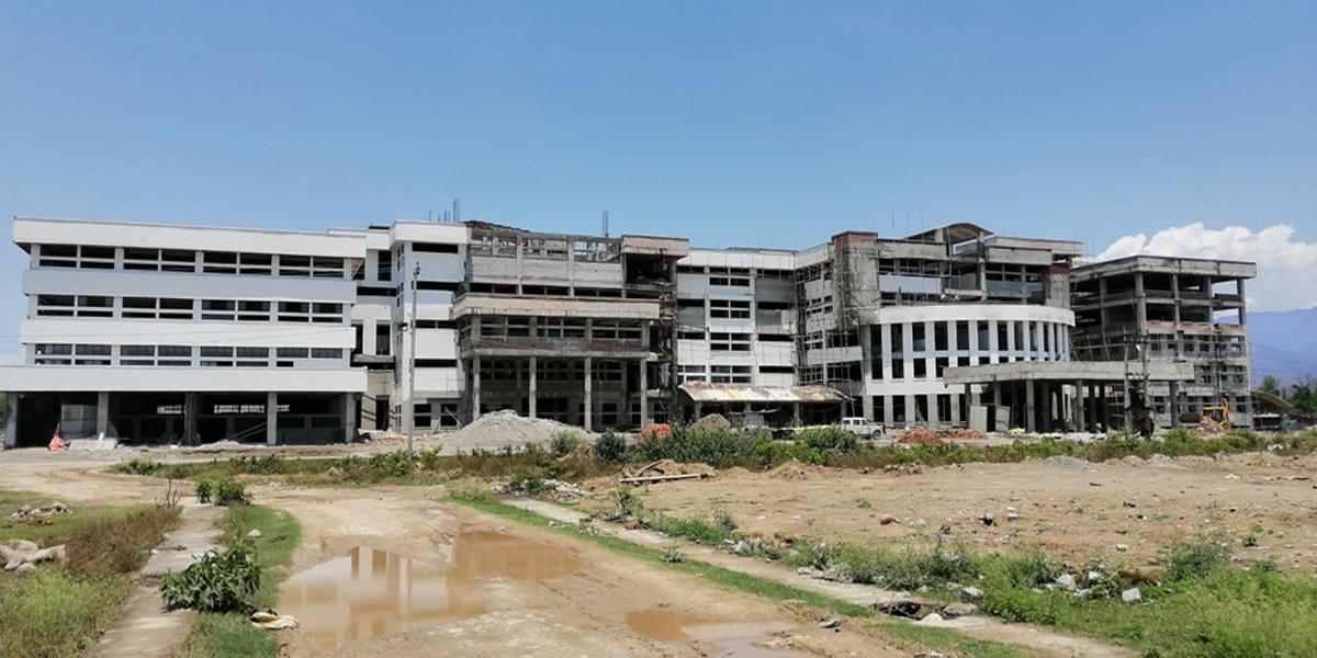 कैलालीको गेटा मेडिकल कलेजको भवनमा कोभिड १९ स्याहार केन्द्र सञ्चालन