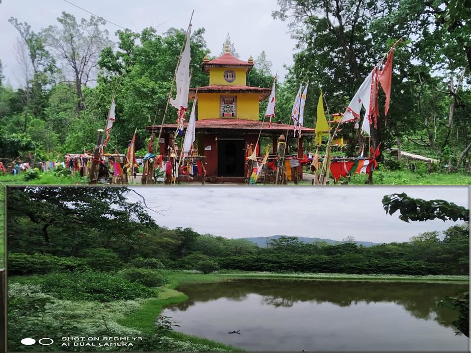 शुक्लाफाँटा – ८ मा रहेको पबित्र धार्मिक पर्यटकिय गन्तव्य मणिकाधाम (मुडका) क्षेत्रमा पर्यटन पुर्बाधार निर्माण