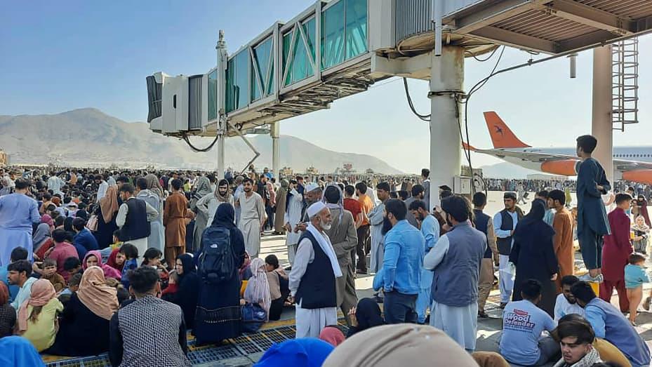 काबुल विमानस्थलमा गोली चल्यो, पाँच जनाको मृत्यु